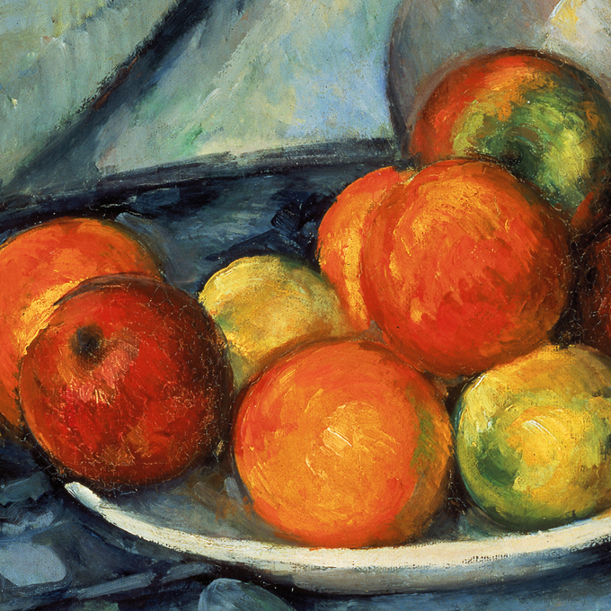 Photo detail of Cezanne painting